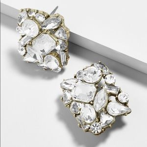 NWT Baublebar Crystal Stud Earrings